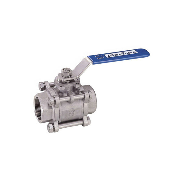 Energy Valves 3 Piece Ball Valve With ISO Pad