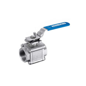 John Valve 3 Piece Fire Safe Ball Valve