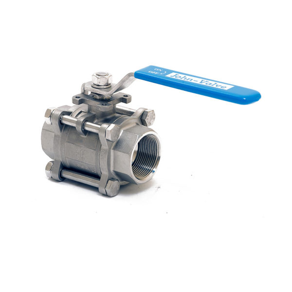 Energy Valve 3 Piece Threaded Ball Valve