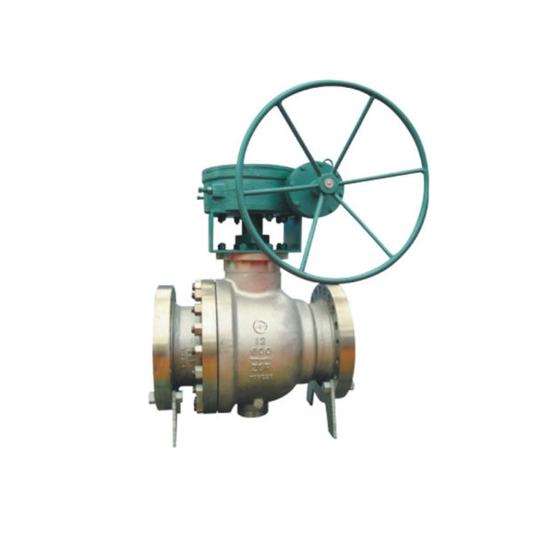 Trunnion Mounted Stainless Steel Ball Valve